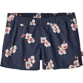 Patagonia Barely Baggies Shorts Women mariposa lily: classic navy